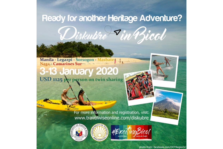YOUNG FILIPINOS OVERSEAS ENCOURAGED TO SIGN UP FOR DISKUBRE HERITAGE TOUR